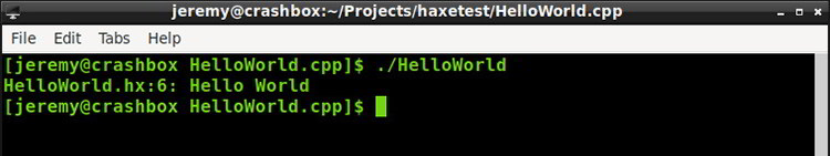 Get started with Haxe