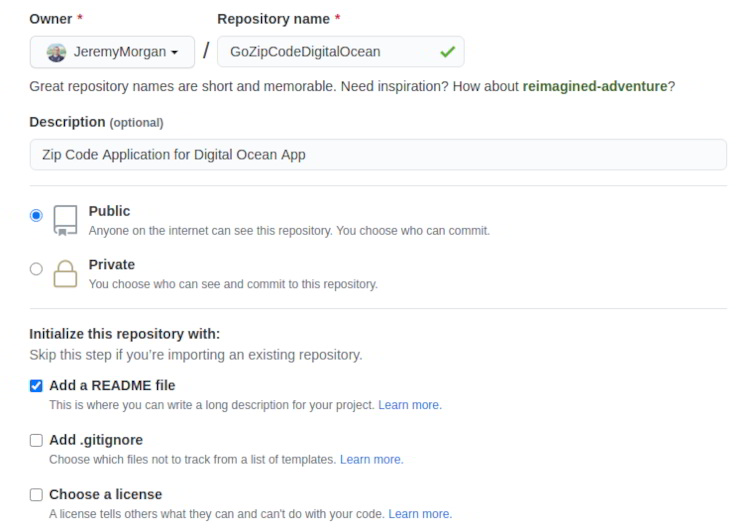 How to Build Go Applications Digital Ocean Platform