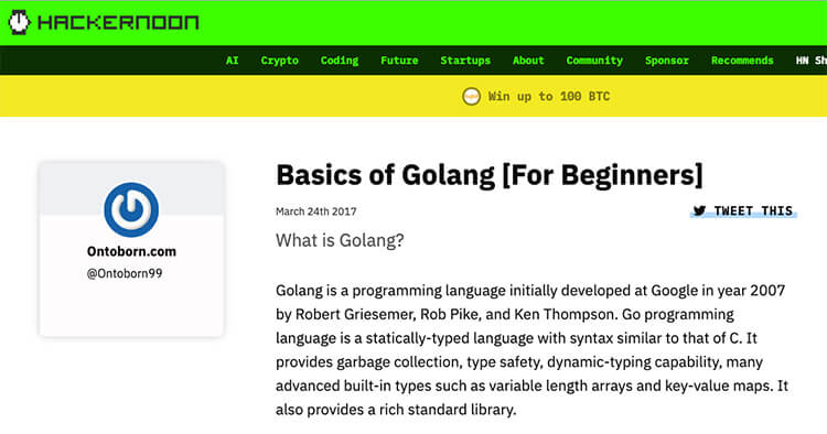 How to Learn Golang