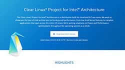 Clear Linux from Intel